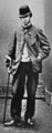 Golfer Willie Dow at Leith Links in May 1867.PNG