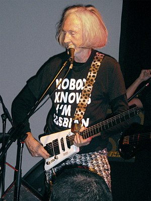 Daevid Allen - Allen performing with Gong at The Zappa Club in Tel Aviv, 2009