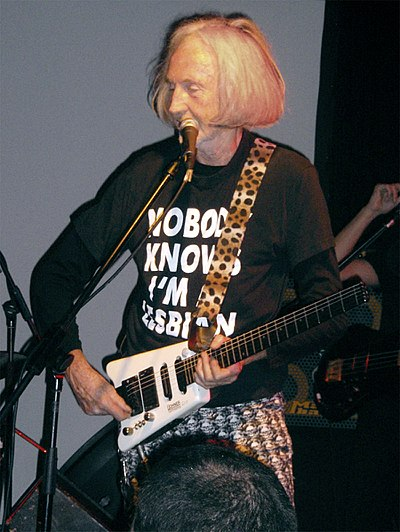 Picture of a band or musician: Daevid Allen