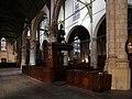 Gouda, st. janskerk, interno 05 pulpito del coro.jpg
