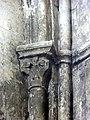 Gournay-en-Bray (76), collégiale St-Hildevert, chœur, chapiteau dans l'angle sud-est.jpg
