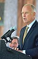Gov. Jerry Brown at the 18th Annual Lake Tahoe Summit (15078131656).jpg