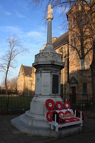 Govan - Govan War Memorial