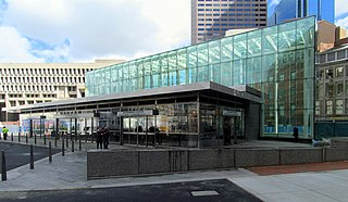 Government Center station (MBTA) MBTA subway station