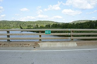 Center for Land Use Interpretation - Grand Portage MN boundary line