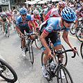 Grand Prix Cycliste de Québec 2012, Heinrich Haussler & teammate (7954884290).jpg