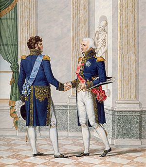 Marshal of the Empire - Official uniform of a Marshal of the Empire. It was designed by painter Jean-Baptiste Isabey and designer Charles Percier.
