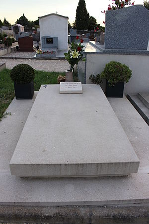 Richard Descoings - Grave of Richard Descoings at the Pernes-les-Fontaines cemetery