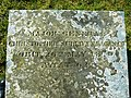 Grave inscription, St John the Baptist, Chirton - geograph.org.uk - 1741910.jpg