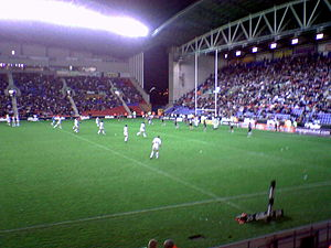 Great Britain national rugby league team - The final home Test for Great Britain against New Zealand in 2007.