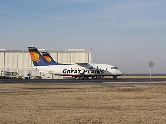 Great Plains Airlines - A Great Plains Airlines Dornier 328JET