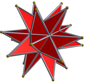 Great stellated dodecahedron - Image: Great stellated dodecahedron