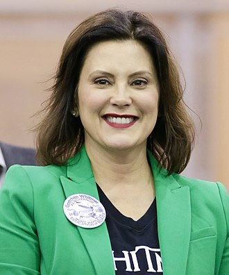 Governor of Michigan - Image: Gretchen Whitmer Portrait
