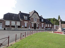 Gricourt (Aisne) mairie.JPG