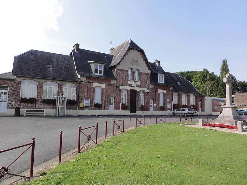 Gricourt (Aisne) mairie