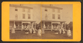 Group playing croquet in front of house or boarding house, by Joshua Appleby Williams 3.png