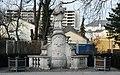 GuentherZ 2011-03-12 0071 Wiener Neustadt Ungargasse Statue Johannes Nepomuk.jpg