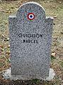 GuentherZ 2013-01-12 0323 Wien11 Zentralfriedhof Gruppe88 Soldatenfriedhof franzoesisch WK2 Guiglion Marcel.JPG