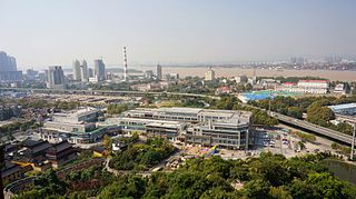 Gulou District, Nanjing District in Jiangsu, Peoples Republic of China