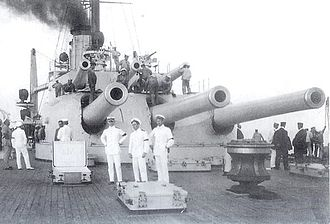 Škoda Works - Škoda supplied all the artillery weaponry for dreadnoughts of the Austro-Hungarian Navy Tegetthoff class