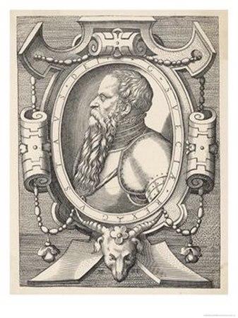 Gustav I Vasa by Martin Rota