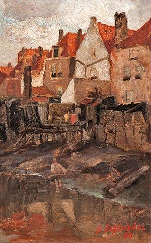 Gustav Schönleber - Image: Gustav Schönleber Aus Vlissingen 1880