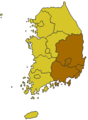 Gyeongsang-Do(Yeongnam) map2.png