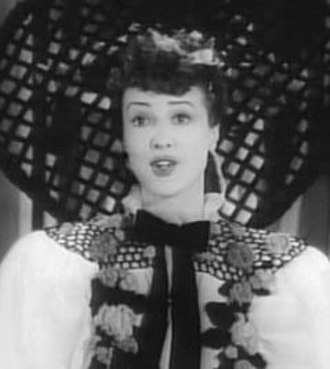 Gypsy Rose Lee - Gypsy Rose Lee in the film Stage Door Canteen (1943)
