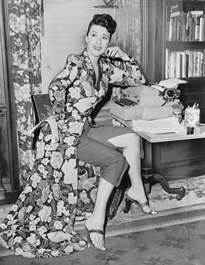 Gypsy Rose Lee - Gypsy Rose Lee, full-length portrait