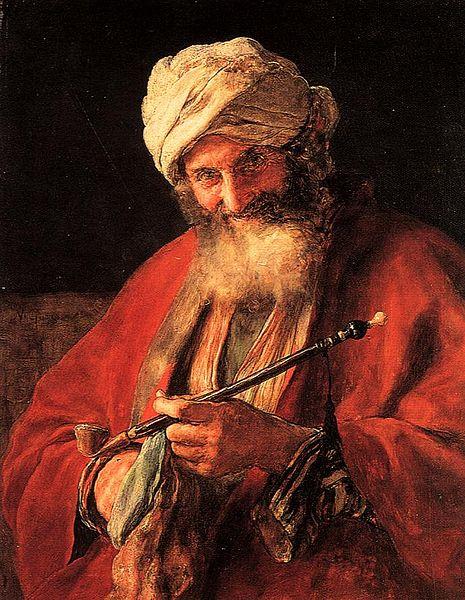 File:Gysis Nikolaos Oriental man with pipe.jpg