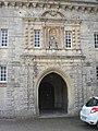 Hôpital de Valognes (ancienne abbaye Notre-Dame-de-la-Protection) - Portail de la chapelle.JPG