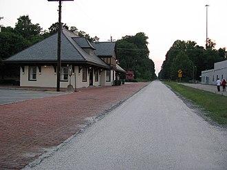 Southside Railroad (Virginia) - Farmville Train Station