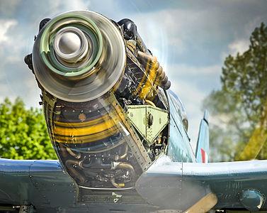 Spitfire Fighter Engine Testing