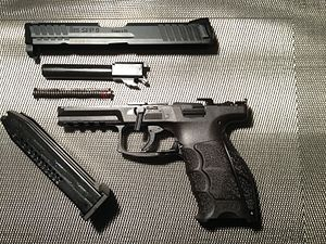 Heckler & Koch VP9 - A disassembled HK-SFP9 LSH