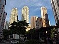 HK 堅尼地城站 MTR Kennedy Town Smithfield view 翰林軒 University Heights facades August 2018 SSG.jpg