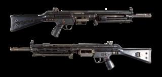Heckler & Koch HK21 General-purpose machine gun