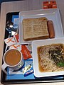 HK CWB 銅鑼灣道 Tung Lo Wan Road 大快活快餐店 Fairwood Restaurant afternoon tea set food bread Rice vermicelli noodle soup n sausage May 2019 SSG 03.jpg