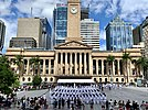 HMAS Brisbane Freedom of Entry Parade - Brisbane, Queensland 02.jpg