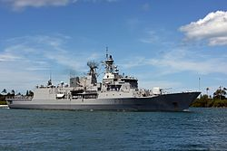 HMNZS Te Kaha arrives at Joint Base Pearl Harbor-Hickam for RIMPAC 2016.jpg