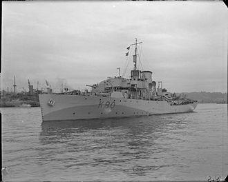Fleming and Ferguson - Image: HMS Bluebell (K80)