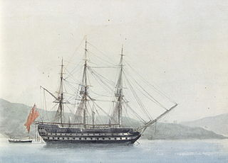 HMS <i>Dragon</i> (1798) 74-gun third rate ship of the line of the Royal Navy