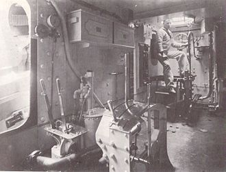 HMS Repulse (1892) - Image: HMS Repulse (1892) barbette interior
