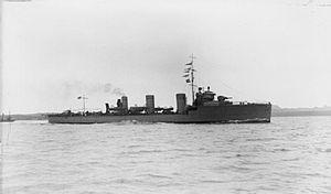 HMS Scourge (1910) IWM SP 000524.jpg