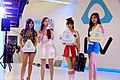HTC Vive promotional models, Taipei Game Show 20170124.jpg