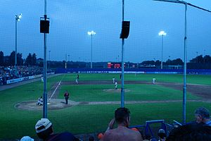 Haarlem Baseball Week - The Pim Mulier Stadium during the 23rd edition of the tournament in 2006