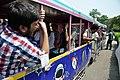 Hacking Space Participants Riding Road Train - Science City - Kolkata 2016-03-29 2848.JPG