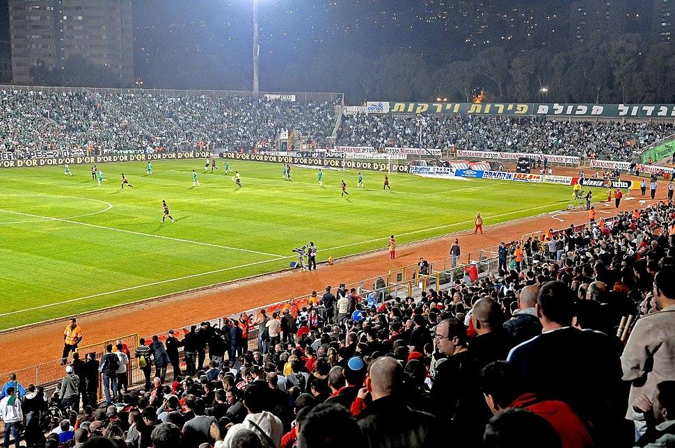 Haifa-WM01 - Kiryat Eliezer Stadium during a local derby
