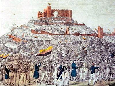 400px Hambacher Fest 1832 Hambach Festival. From Wikipedia, the free encyclopedia