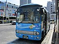 Hana Bus A2-751 Seibu Bus at Hibarigaoka Station 01.jpg