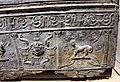 Hanawé (presso tiro), sarcofago a decoro architettonico, vegetale e figurato, piombo molato, II-III sec. 02.JPG